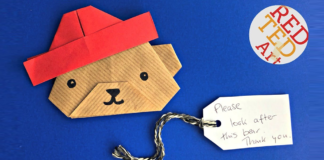 craft-paddington bear-origami